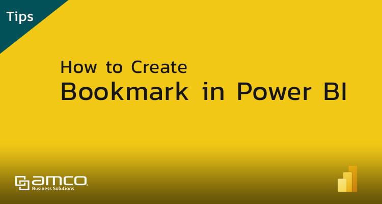 How to Create Bookmark in Power BI
